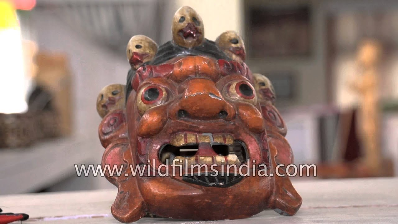 Monpa Masks And Handicrafts At Tawang Emporium, Inaugurated By Mukut Mithi