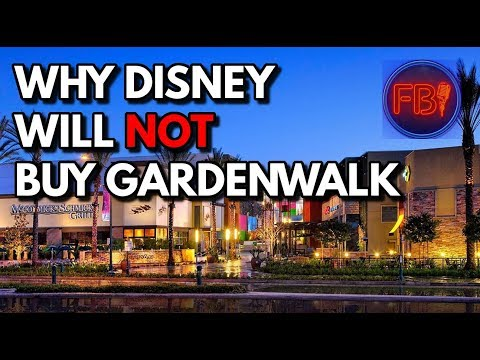 GardenWalk is for sale and Disney is NOT going to buy it | D