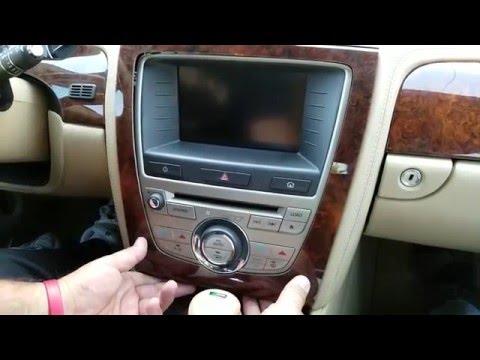 How to Remove Radio / Navigation / Display from Jaguar XK 2008 for Repair.