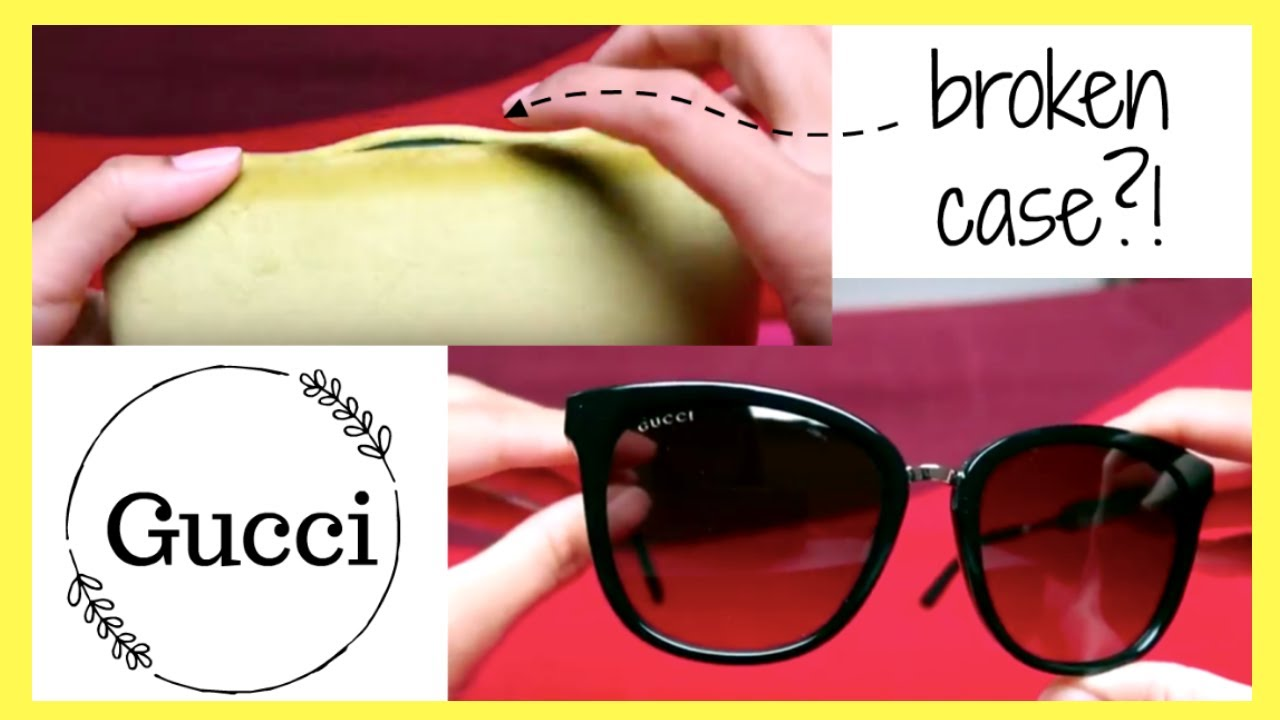 36a8d892f68 GUCCI SUNGLASSES REVIEW   UNBOXING - YouTube