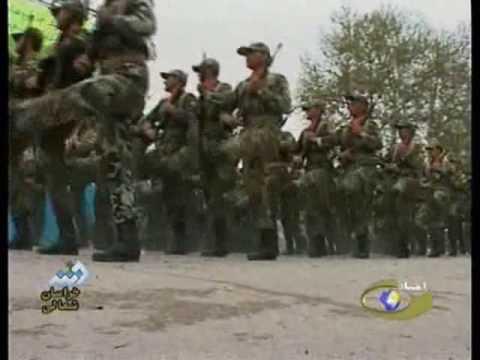 Islamic Republic of  Iran Army  parade April 2009
