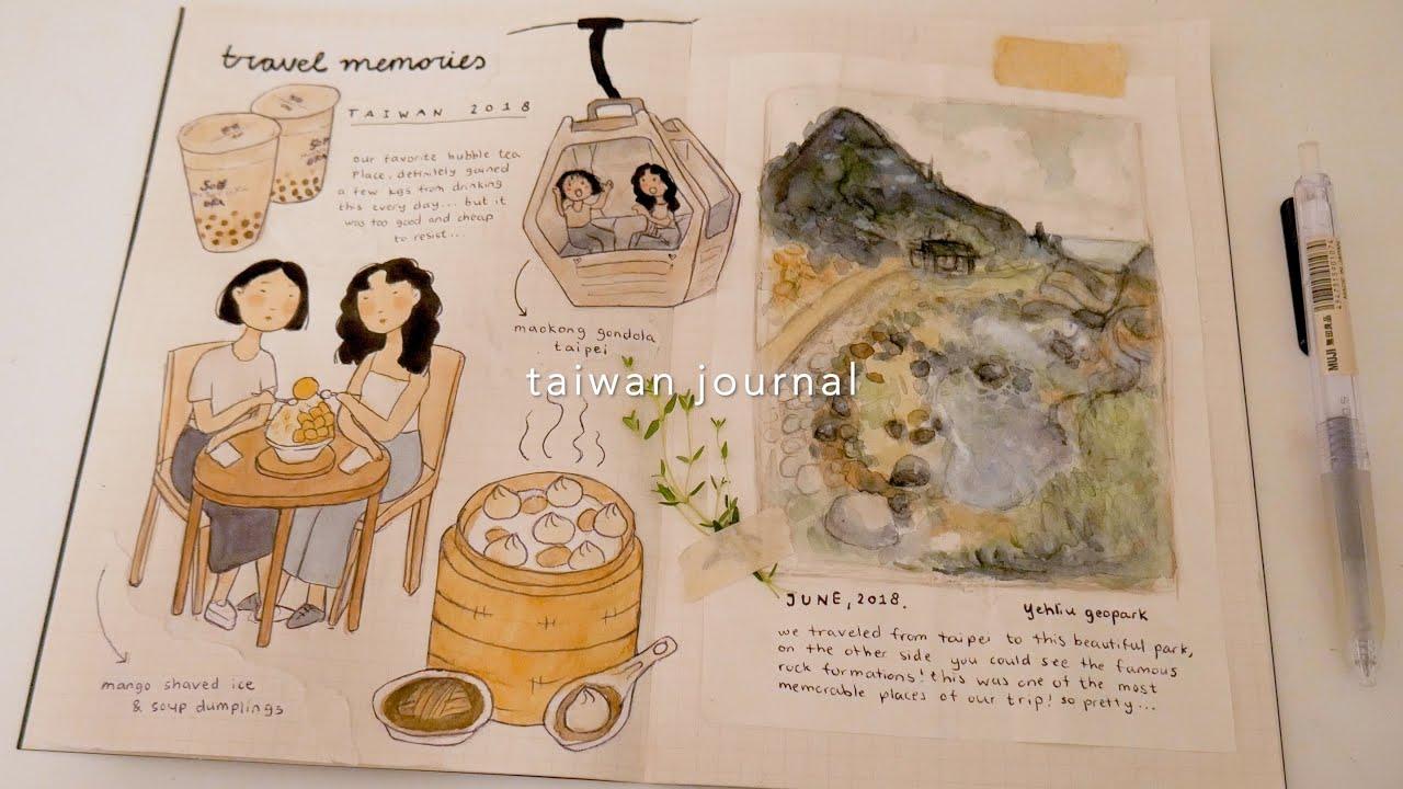art diary ∣ travel memories 💭 w/ milkcloud