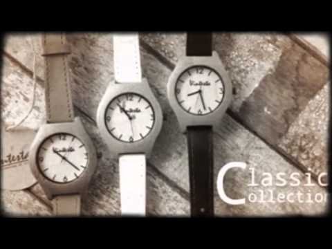 Back in time with...VINTESTA Wooden Wrist Watch