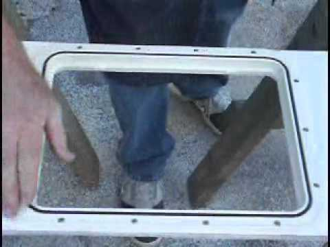 Innovative Products Access Panel - Hatch Installation