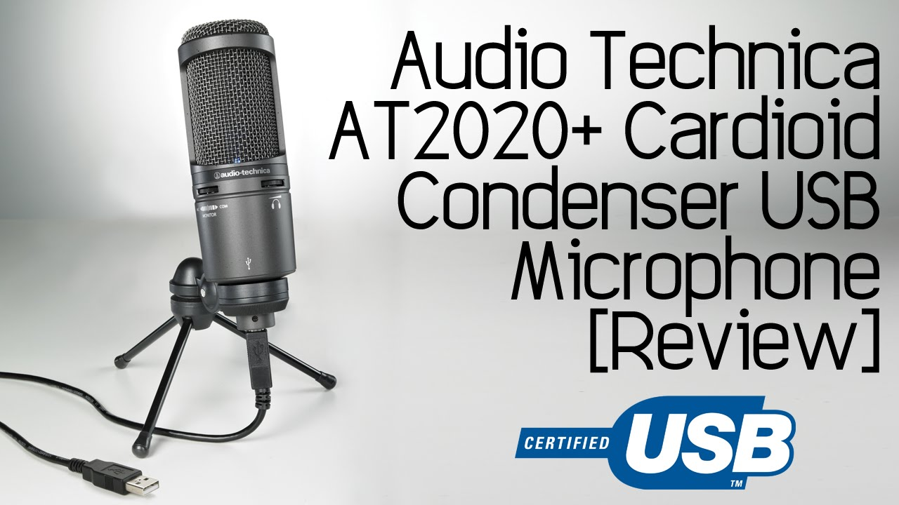 AT2020 CARDIOID CONDENSER MICROPHONE DRIVER PC