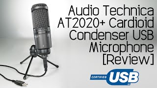 audio technica at2020 usb cardioid condenser microphone review audio test