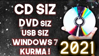 CD SİZ FORMAT ATMA WİNDOWS 7/8/10 ! 2018