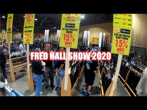 Fred Hall Show 2020 - One Of The Biggest Fishing Show In The World!  Walk Around Raw Footage.