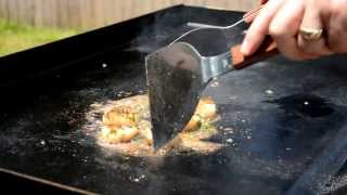How To Cook Hibachi Style Ginger Scallops Blackstone Griddle