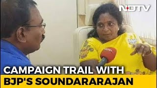 BJP's Tamilisai Soundararajan Says Only DMK Has Anti-National Record