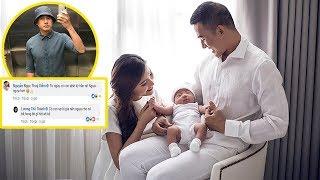"""Thú nhận có sở thích""""kỳ lạ"""" từ khi có con,Lương Thế Thành khiến fan và Thúy Diễm phản ứng bất ngờ..!"""
