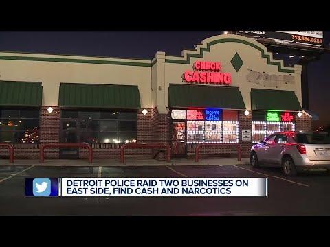 Half a million in drug money seized after Detroit police raid businesses on city's east side