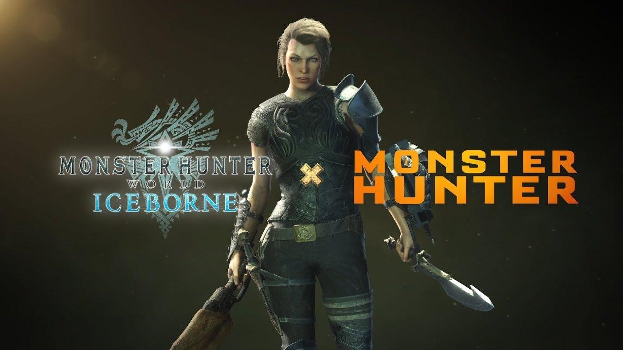 Monster Hunter World: Iceborne - Monster Hunter Film Collaboration Trailer - Gematsu