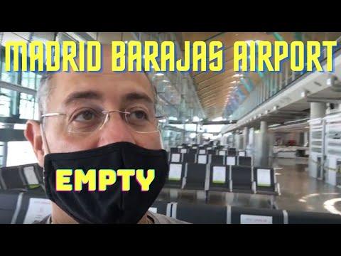 Camino de Santiago Update | Barajas Airport in Madrid | BDE Travels