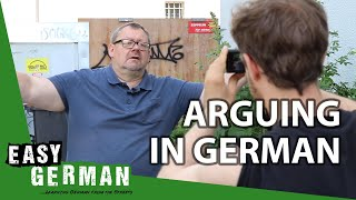 How to argue in German | Super Easy German (108)