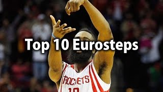 NBA Top 10 Eurosteps