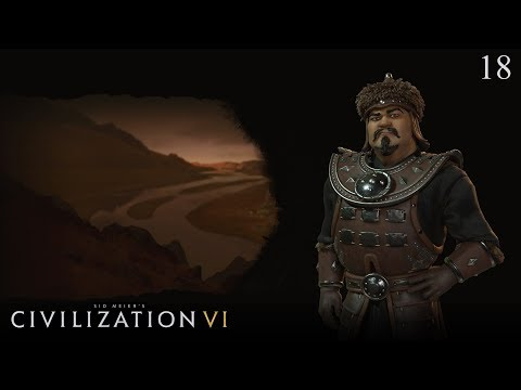 Civilization VI: Rise and Fall - Let's Play as Mongolia #18 (Deity)