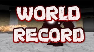 ROBLOX Identity Fraud Speedrun - COOP WORLD RECORD
