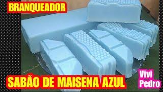 SABÃO DE MAISENA AZUL – BRANQUEADOR SEM SODA