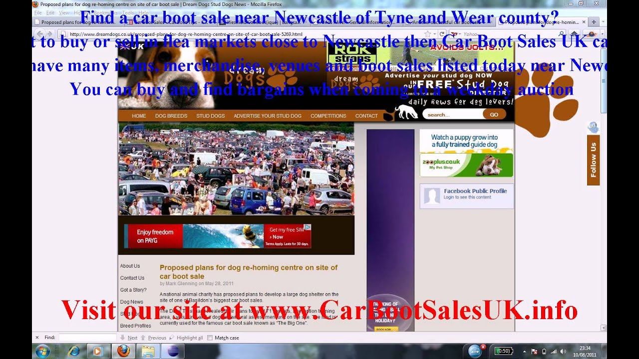 Car Boot Sales Newcastle  Flea Market Sites Tyne and Wear  YouTube