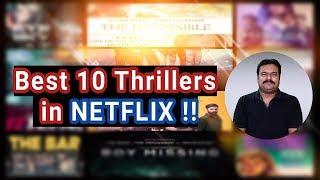 Top 10 Best Thrillers in NETFLIX | Filmi craft Arun