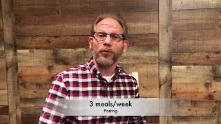 LIFESTYLE DISCIPLINE 3 - FASTING
