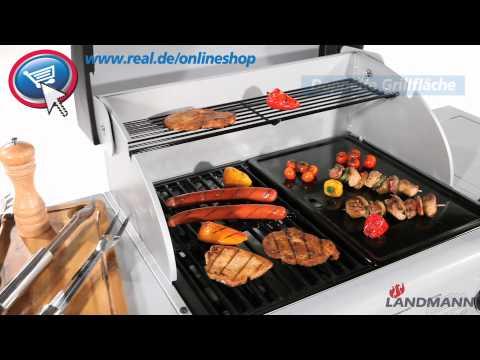 Landmann Gasgrill Cronos : Real landmann grill youtube