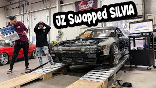 Sending DJ's Silvia to the MOON on the Dyno!