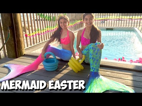 How do MERMAIDS celebrate Easter?