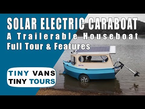 Solar Electric Caraboat Tour & Features