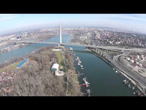 Ada Ciganlija Beograd : Andrija VideoDron