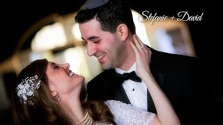 Stefanie and David | Jewish Wedding at Sephardic Temple in Cedarhurst, NY | Expressions Cinema