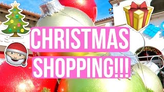 christmas shopping with the family vlogmas day 5