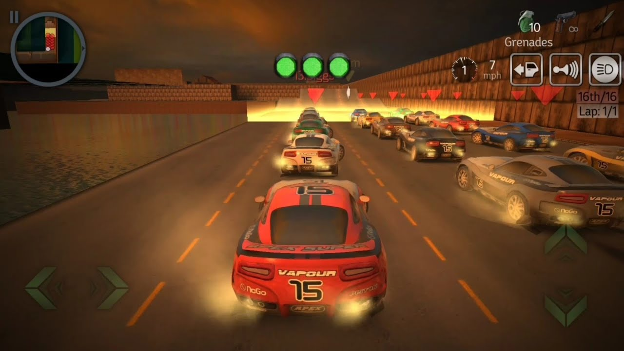 Playback series 1st game || Game series 1st || Game for racers 2020