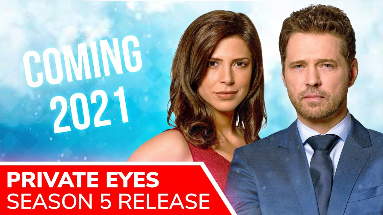 Download PRIVATE EYES Season 5 Release Set for 2021: Jason Priestley & Cindy Sampson Will Return
