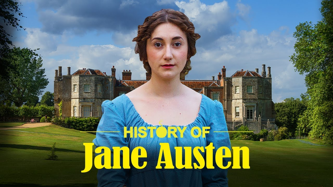 History of Jane Austen (in One Take) | History Bombs - YouTube