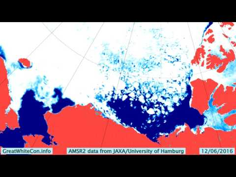 Beaufort Sea Ice Movement in the Spring & Summer of 2016
