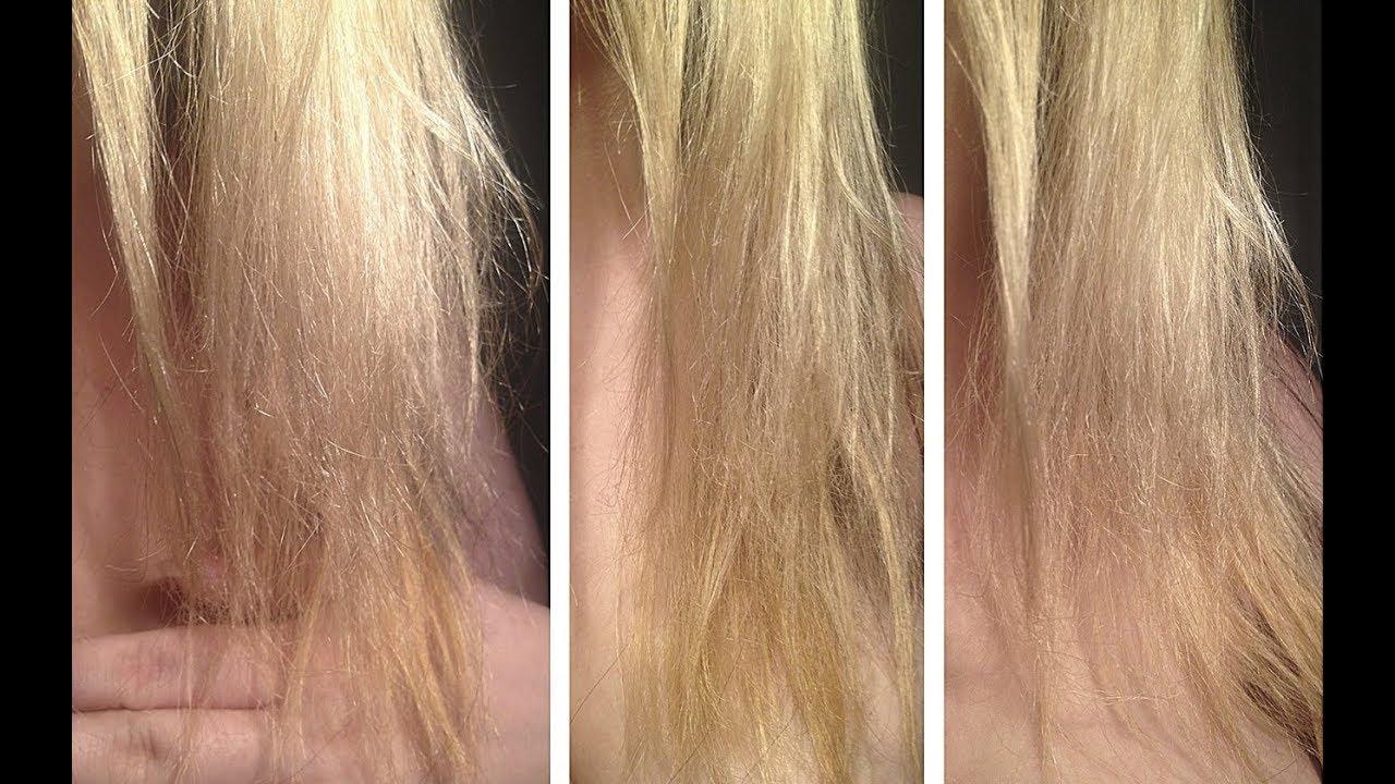Отваливаются волосы после осветления
