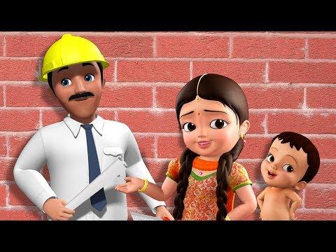 Engineer Song - सामुदायिक सहायक | Hindi Rhymes For Children | Infobells