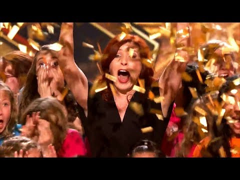 TOP 4 Choir Auditions That Got The GOLDEN BUZZER On Got Talent!