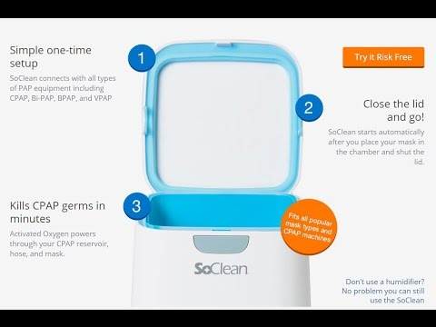 SoClean CPAP Cleaner and Sanitizer Machine Reviews - Try Risk Free