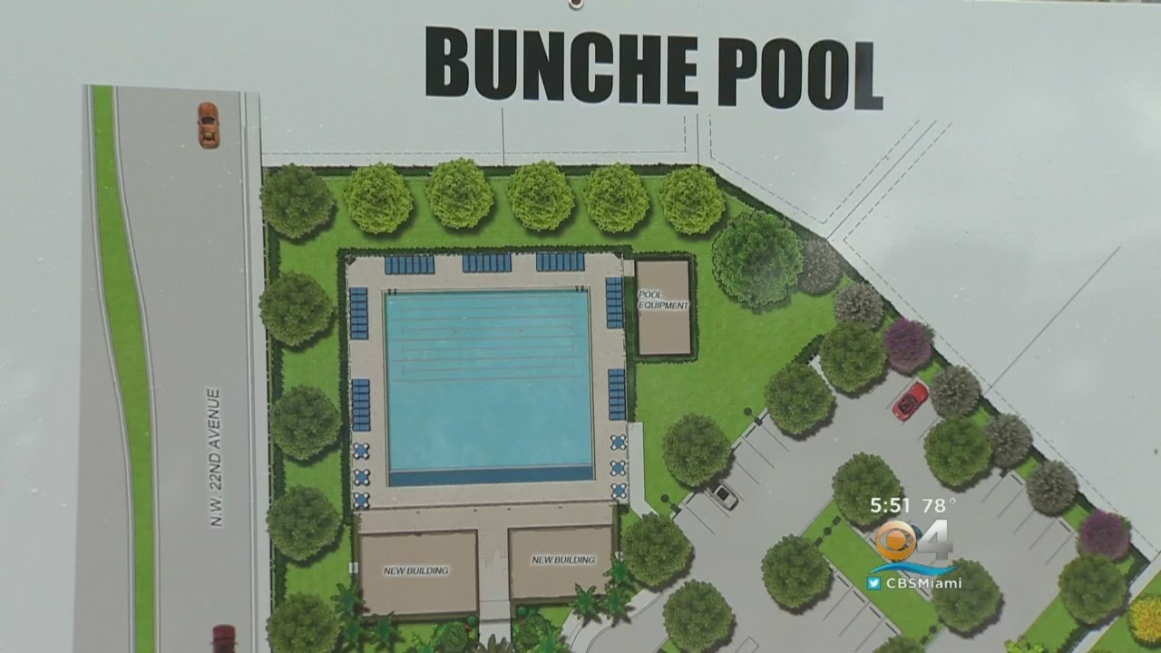 Bunche Park Pool To Be Restored Youtube