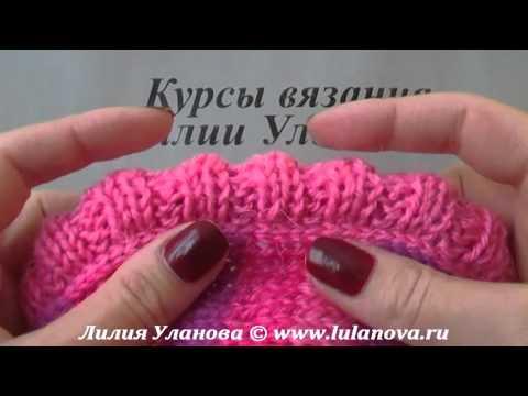 Безрукавка спицами Полосатая - 2 часть - Knitting jerkin spokes смотреть в хорошем качестве
