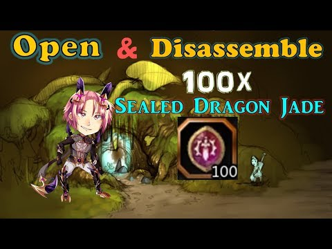 [Open&Disasemble] 100x Sealed Dragon Jade - SpeedColie -【Dragon Nest SEA】