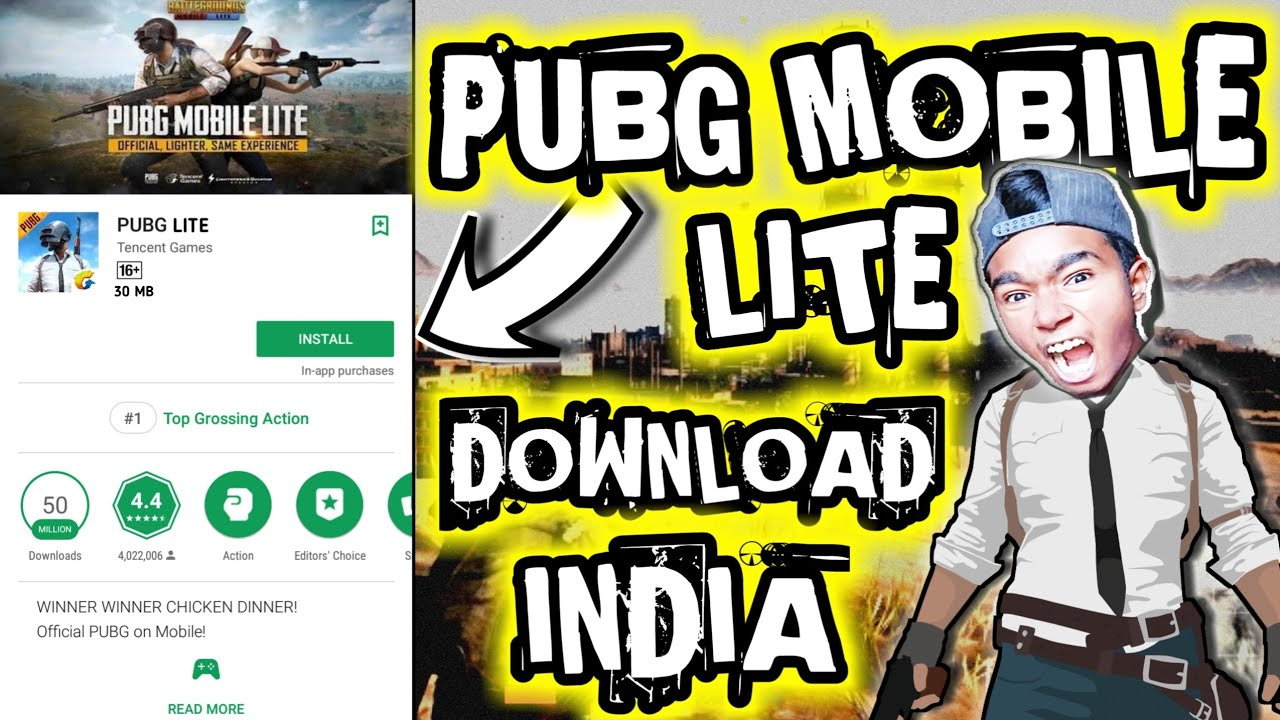 Pubg Mobile Lite Indirmeye Hazır: HOW TO DOWNLOAD/INSTALL PUBG MOBILE LITE IN INDIA! PUBG
