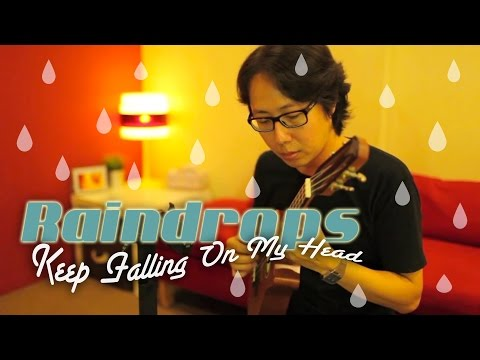 Download Fingerstyle Ukulele Lesson 196 Raindrops Keep Falling On