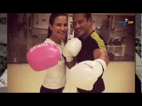 Malvino Salvador está namorando com a lutadora Kyra Gracie