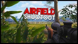 Airfield Shootout, First GUNFIGHT Ever! (Scum Gameplay Part 5)