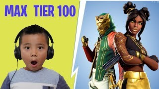 Max Tier 100 Skin Fortnite Season 8 Gameplay With CKN Gaming