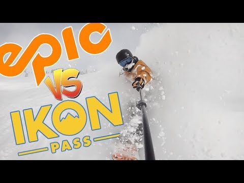 Which Ski Or Snowboard Season Pass Should You Buy? - (Ikon Or Epic)